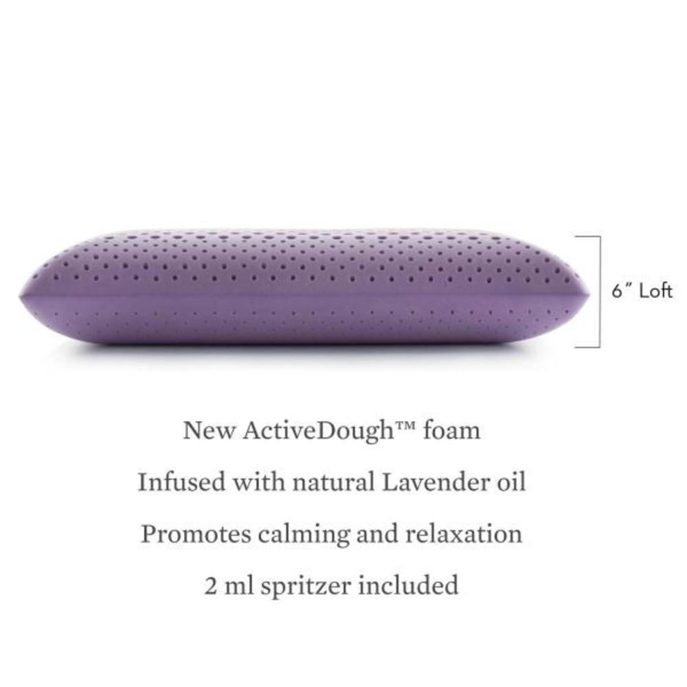 Malouf - Zoned Dough Lavendar Pillow