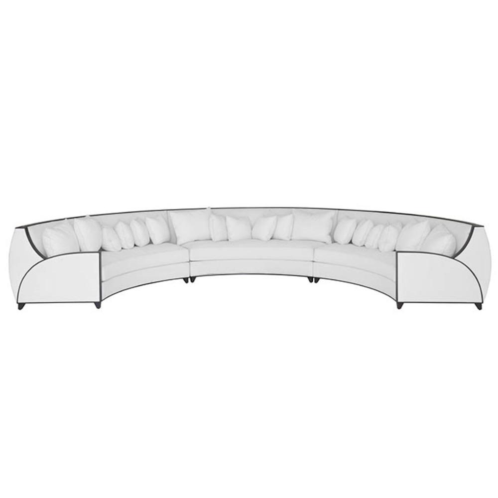 Lily Koo - Fullerton 3 Sectional Sofa
