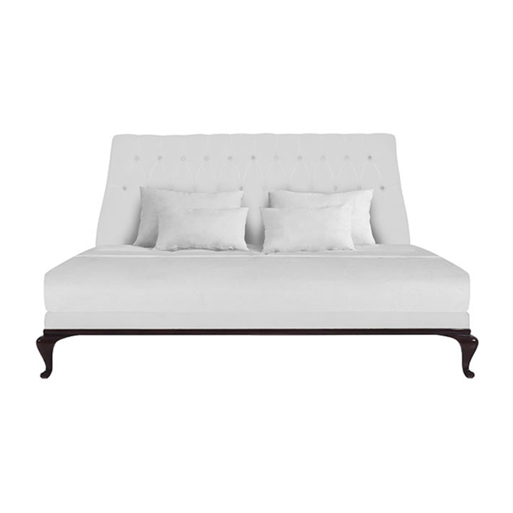 Lily Koo - Kara Headboard and Bed Base