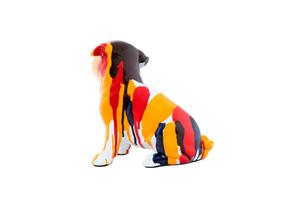 Thumbnail of Interior Illusions Plus - Bulldog Sitting Splatter Art Dog