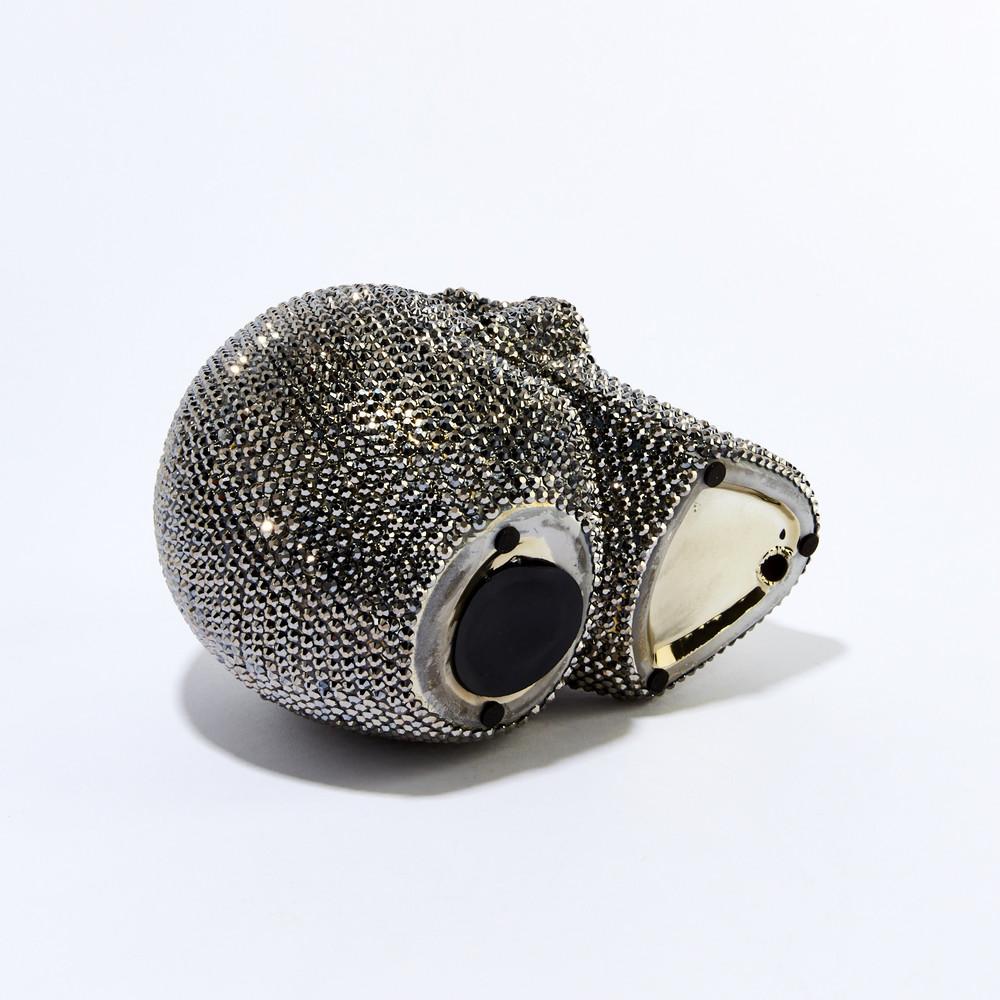 Interior Illusions Plus - Rhinestone Skull Bank