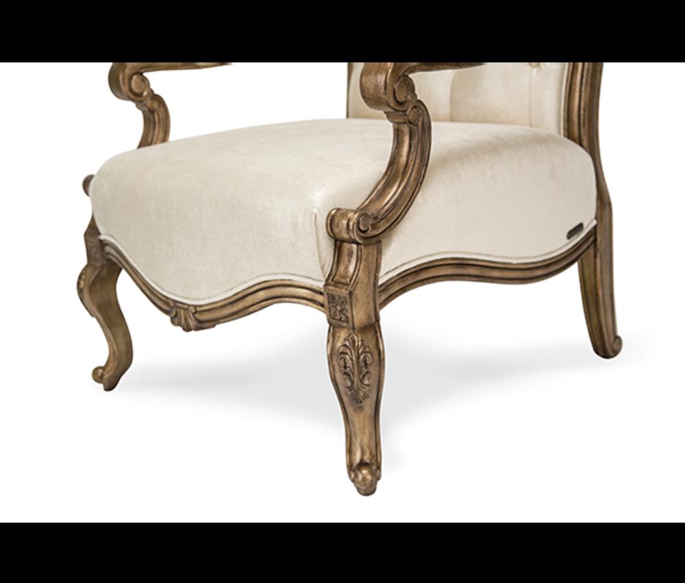 Michael Amini - Platine de Royale Wood Chair