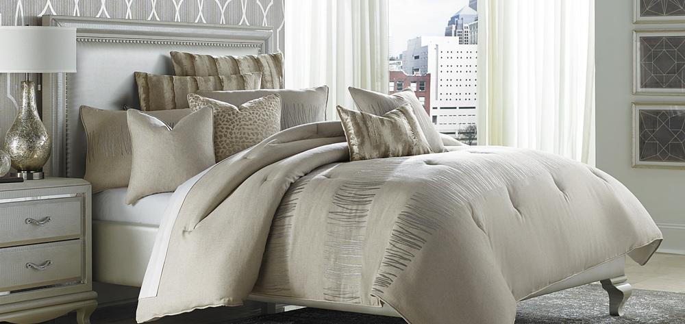 Michael Amini - Captiva King Comforter Set, 10 pc