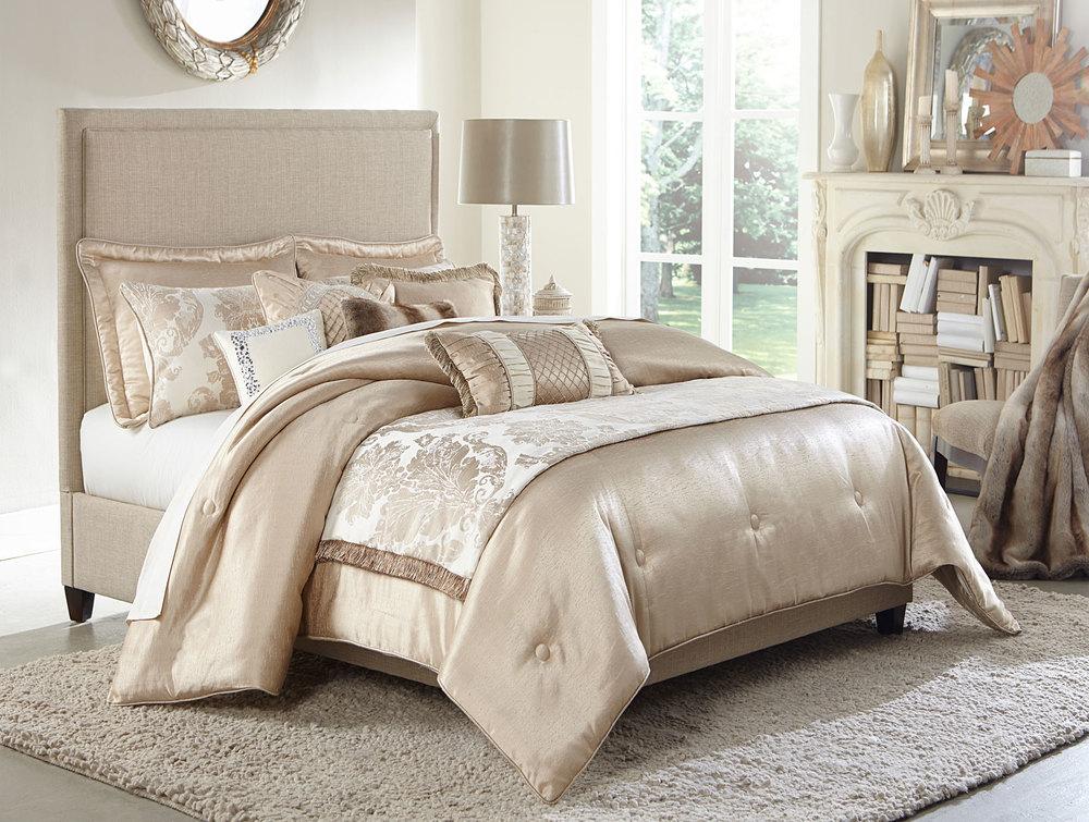 Michael Amini - Palermo King Comforter Set, 10 pc
