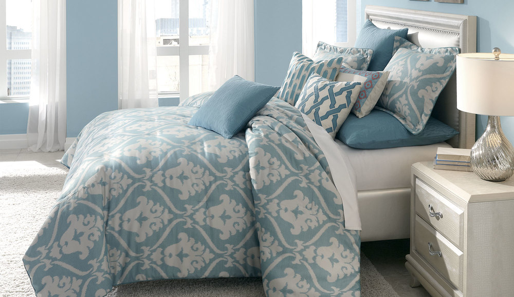 Michael Amini - Tucson King Comforter Set, 10 pc
