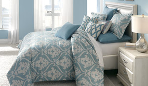 Thumbnail of Michael Amini - Tucson King Comforter Set, 10 pc
