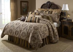 Thumbnail of Michael Amini - Lucerne King Comforter Set, 13 pc