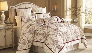 Thumbnail of Michael Amini - Hidden Glen Queen Comforter Set, 9 pc