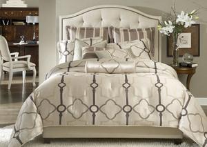 Thumbnail of Michael Amini - Keystone Court Queen Comforter Set, 9 pc