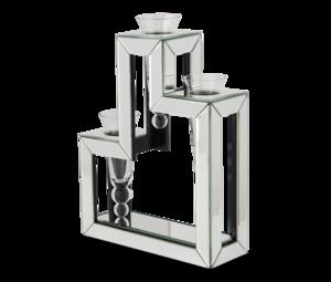 Thumbnail of Michael Amini - Three Tier Glass Vase