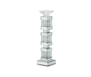 Thumbnail of Michael Amini - Mirrored/Crystal Candle Holders, Tall, Pack/2