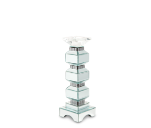 Thumbnail of Michael Amini - Three Tier Mirrored Candle Holder, Pack/2
