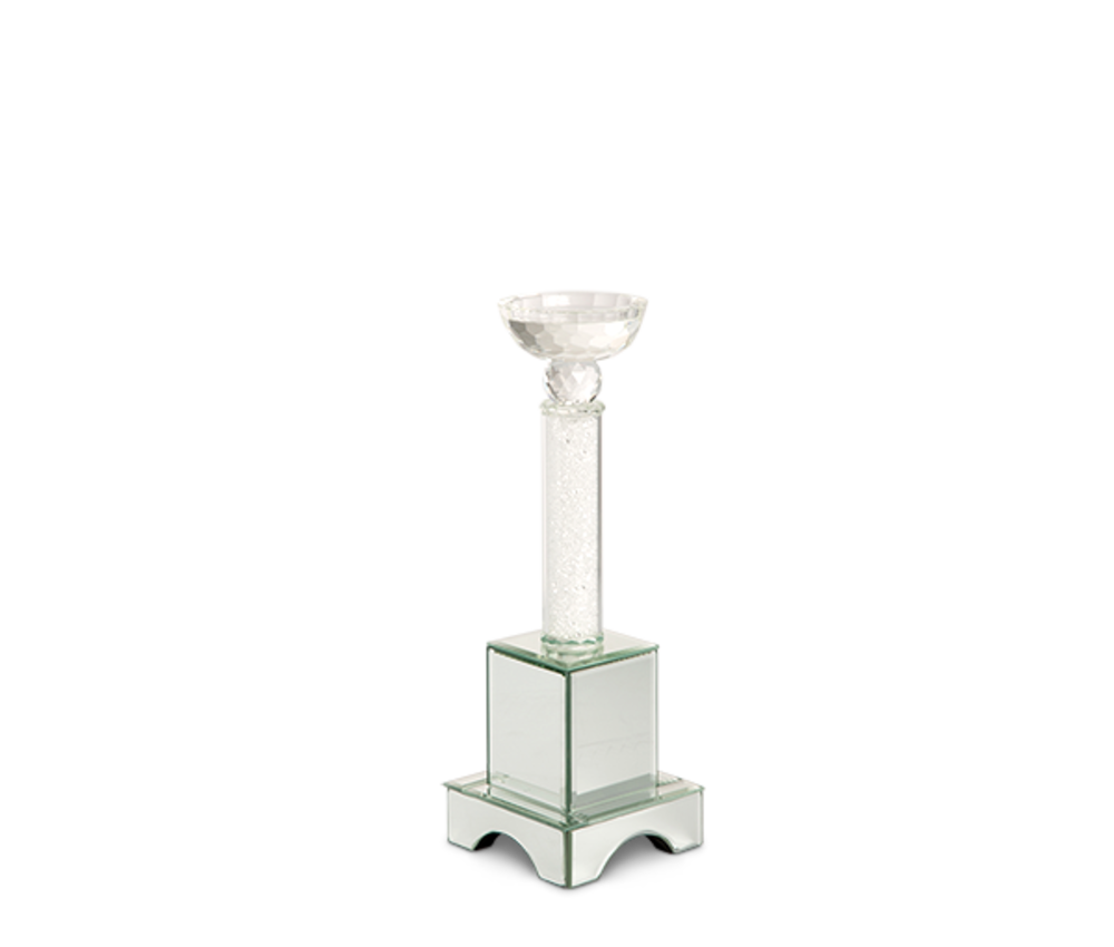 Michael Amini - Crystal Tower with Mirror, Small, Pack/2