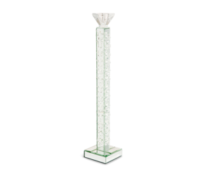 Thumbnail of Michael Amini - Slender Mirrored Crystal Candle Holder, Large