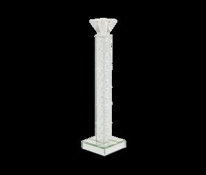 Thumbnail of Michael Amini - Slender Mirrored Crystal Candle Holder, Medium