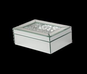 Thumbnail of Michael Amini - Mirrored/Crystal Jewelry Box, Pack/4