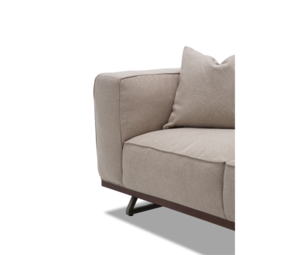 Thumbnail of Michael Amini - Tempo Loveseat with Wood Base