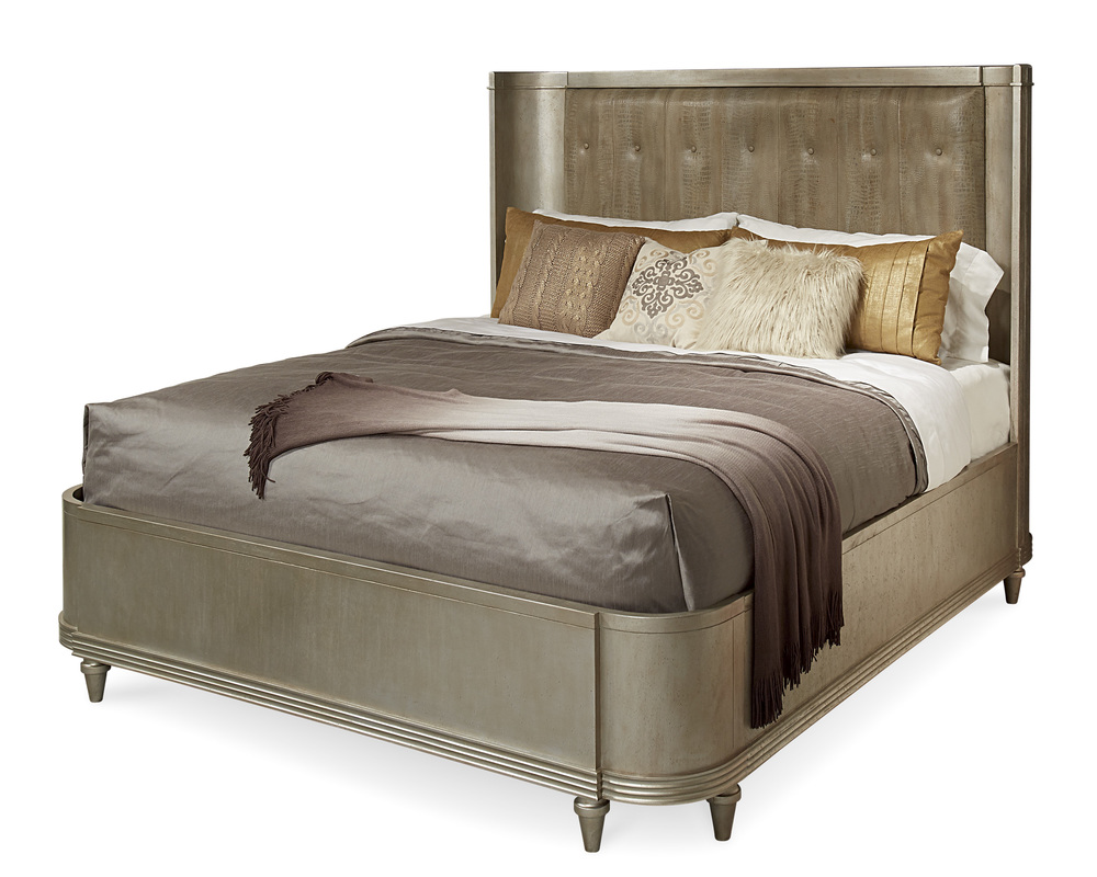 A.R.T. Furniture - Queen Upholstered Shelter Bed