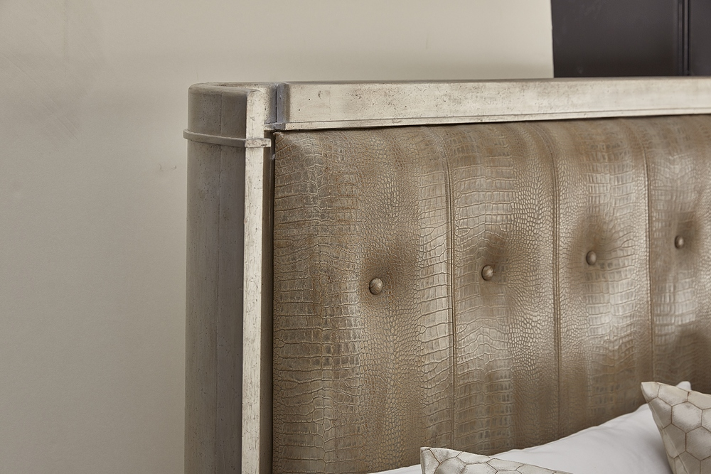 A.R.T. Furniture - King Upholstered Shelter Bed