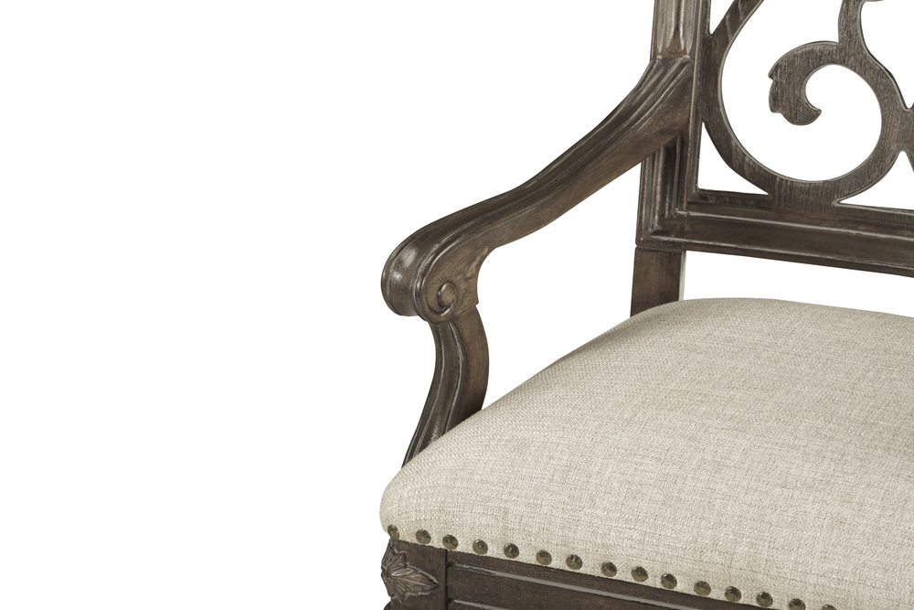A.R.T. Furniture - Tristan Fret Back Arm Chair
