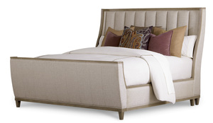 Thumbnail of A.R.T. Furniture - Queen Upholstered Shelter Sleigh Bed