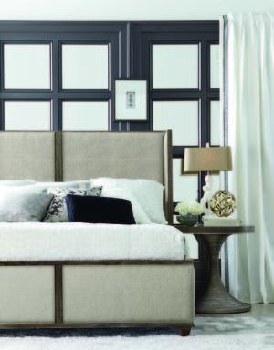 Thumbnail of A.R.T. Furniture - King Upholstered Platform Bed