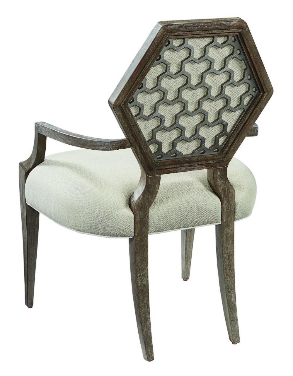 A.R.T. Furniture - Druzy Arm Dining Chair