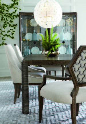 Thumbnail of A.R.T. Furniture - Druzy Arm Dining Chair