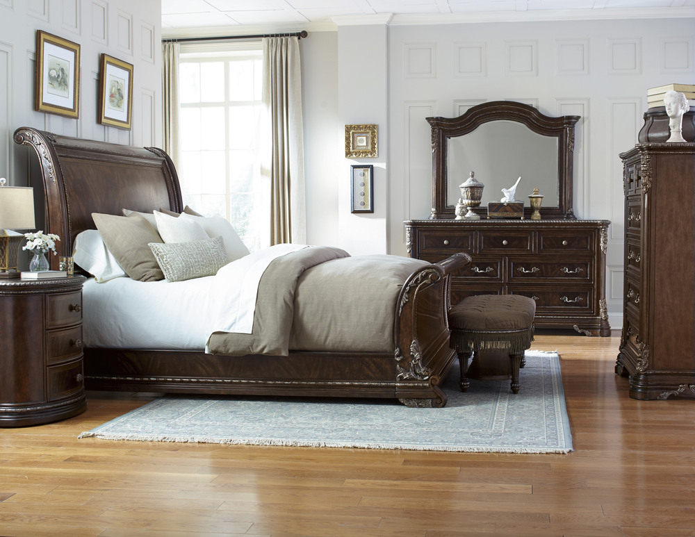 A.R.T. Furniture - King Sleigh Bed
