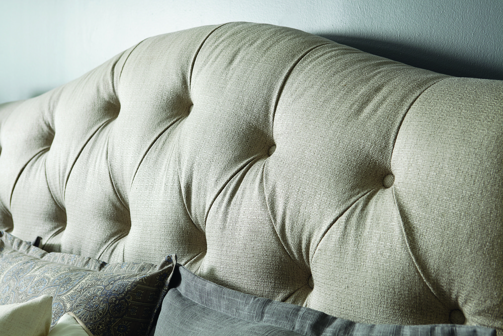 A.R.T. Furniture - Shoals King Upholstered Tufted Sleigh Bed