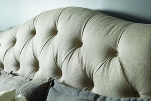 Thumbnail of A.R.T. Furniture - Shoals King Upholstered Tufted Sleigh Bed