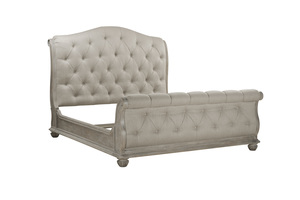 Thumbnail of A.R.T. Furniture - Shoals California King Upholstered Tufted Sleigh Bed