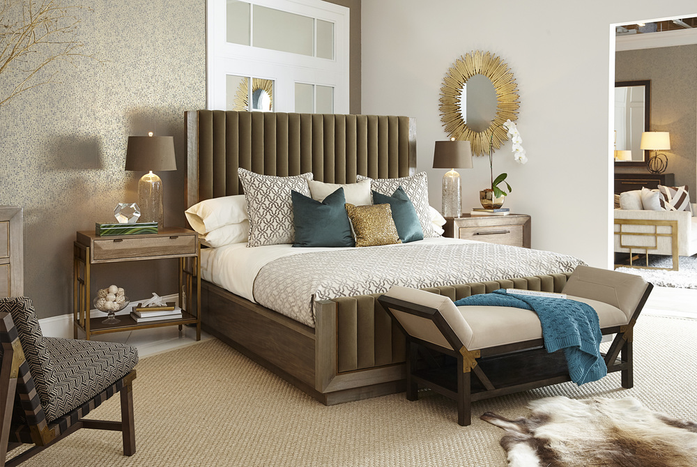 A.R.T. Furniture - California King Mulholland Upholstered Bed