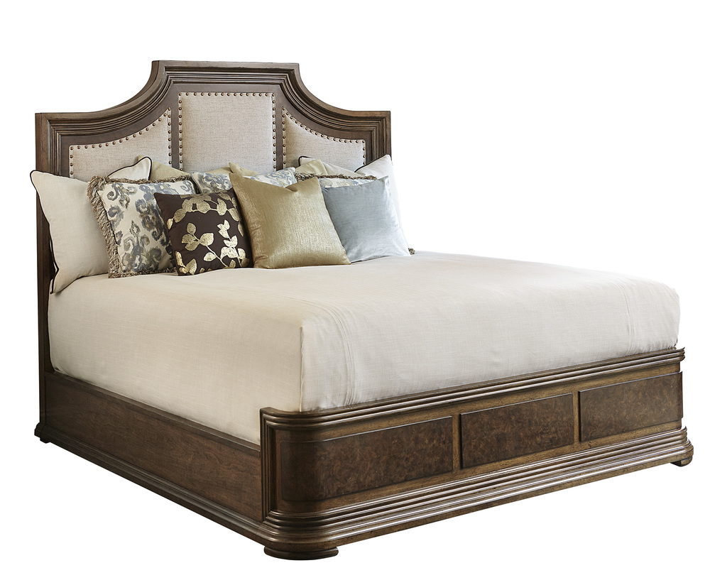 A.R.T. Furniture - King Upholstered Panel Bed