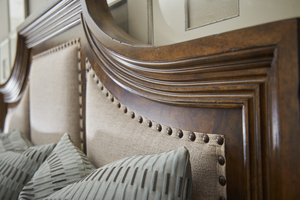 Thumbnail of A.R.T. Furniture - King Upholstered Panel Bed