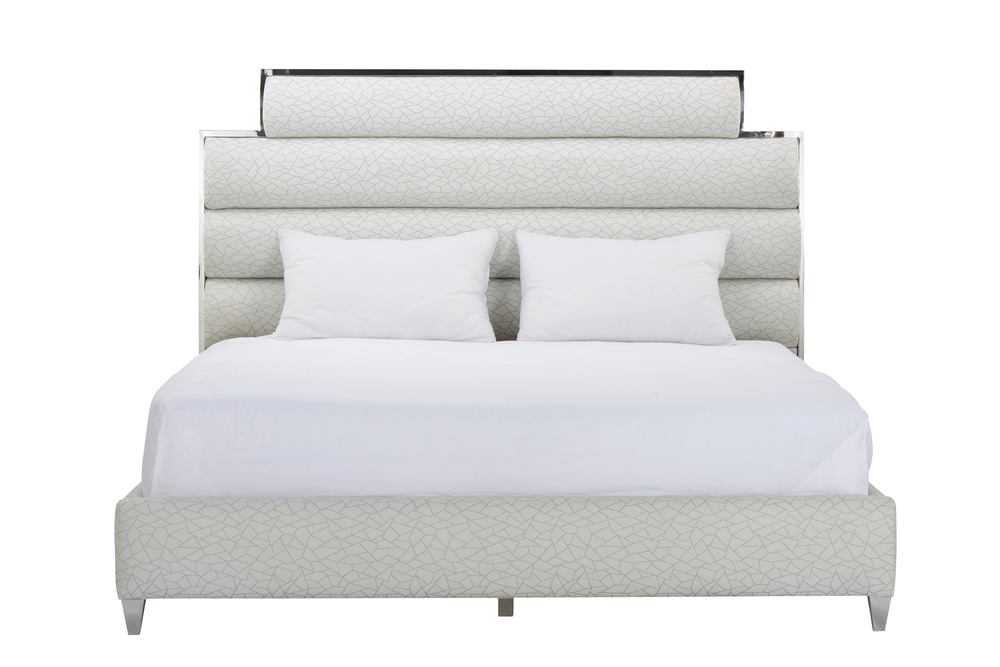 A.R.T. Furniture - California King Upholstered Panel Bed