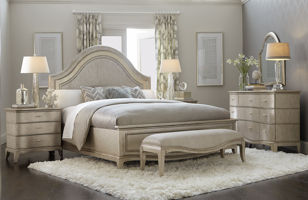 A.R.T. Furniture - King Panel Bed