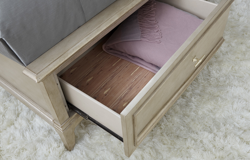 A.R.T. Furniture - Queen Upholstered Panel Bed with Storage