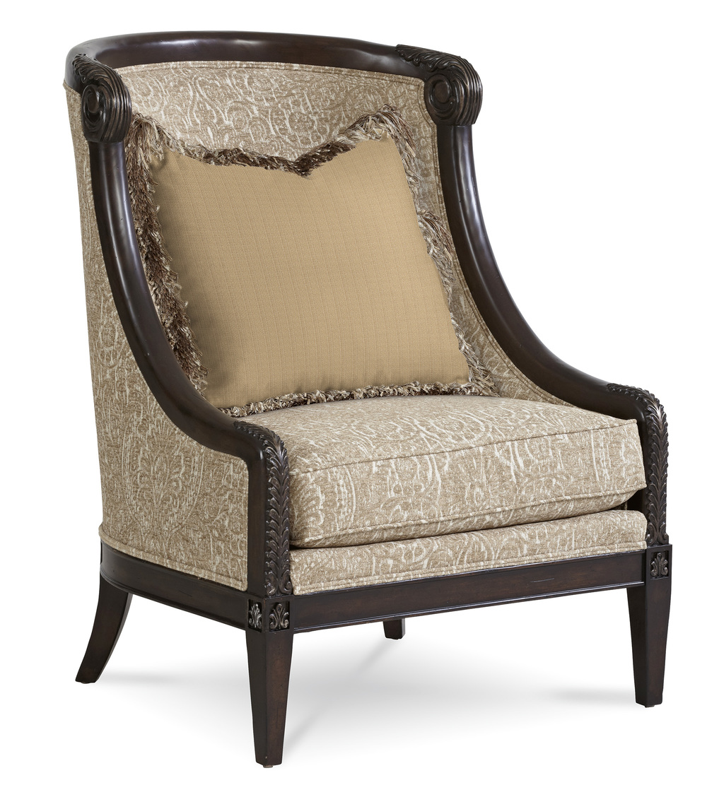 A.R.T. Furniture - Carved Wood Accent Chair