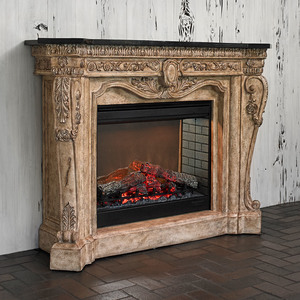 Thumbnail of Ambella Home Collection - Floral Electric Fireplace
