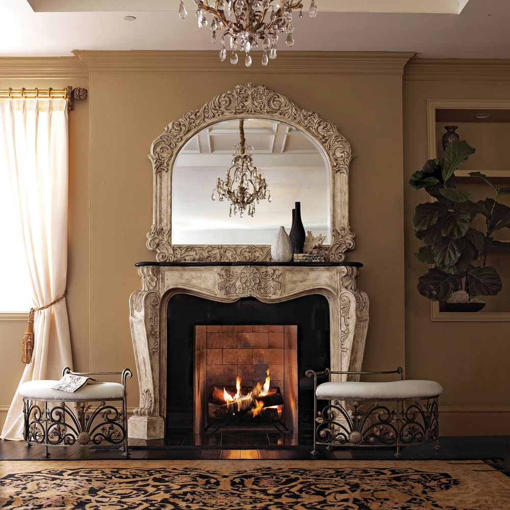 Ambella Home Collection - French Fireplace Surround