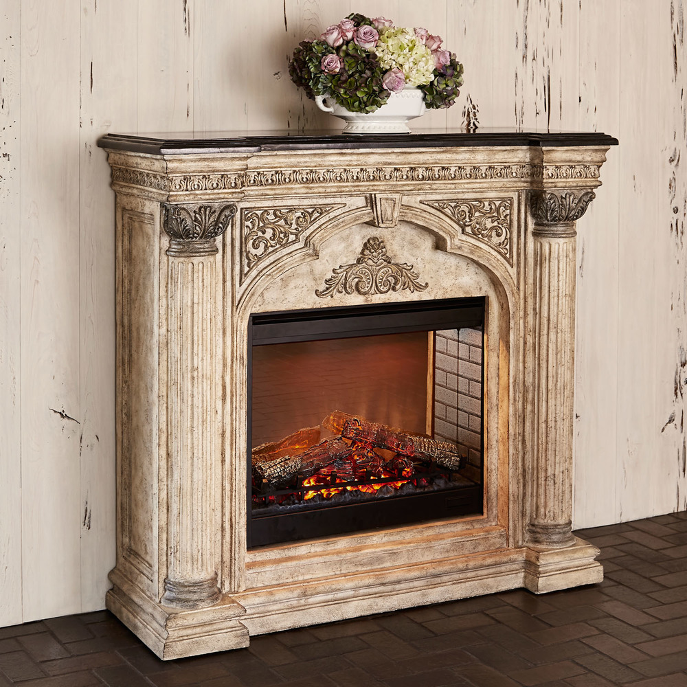 Ambella Home Collection - Arch Electric Fireplace