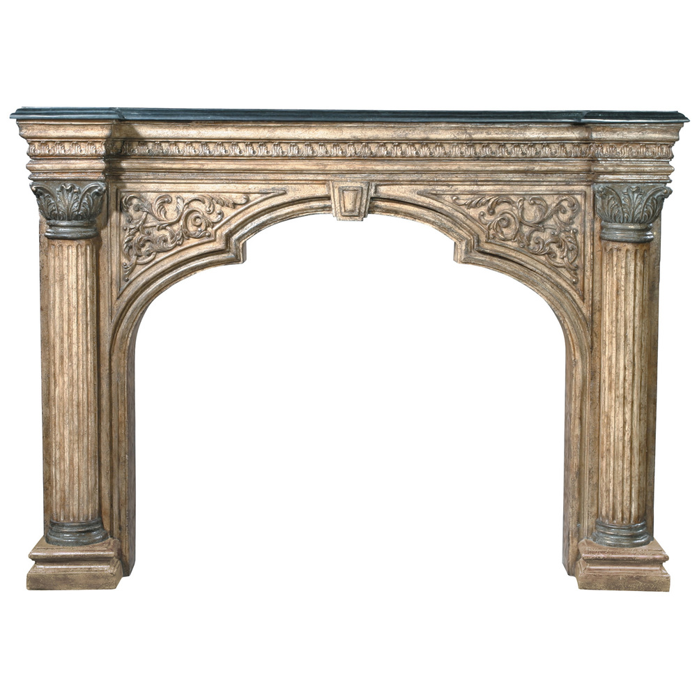 Ambella Home Collection - Arch Fireplace Surround
