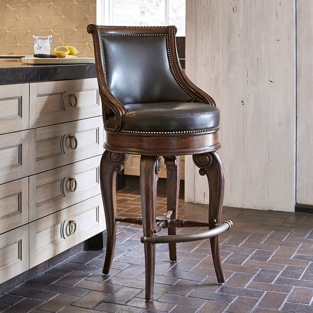 Ambella Home Collection - Tatum Swivel Bar Stool