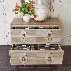 Thumbnail of Ambella Home Collection - Diamond 2 Drawer Cabinet