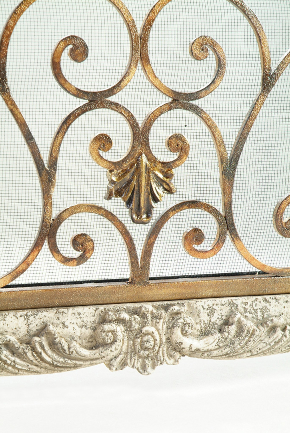 Ambella Home Collection - Heartstone Fireplace Screen