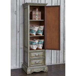 Thumbnail of Ambella Home Collection - Medallion Single Door Cabinet