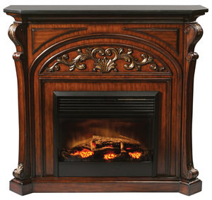 Thumbnail of Ambella Home Collection - Chambord Electric Fireplace