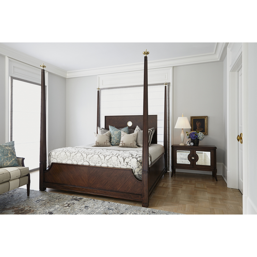Ambella Home Collection - Crown 4 Poster Bed