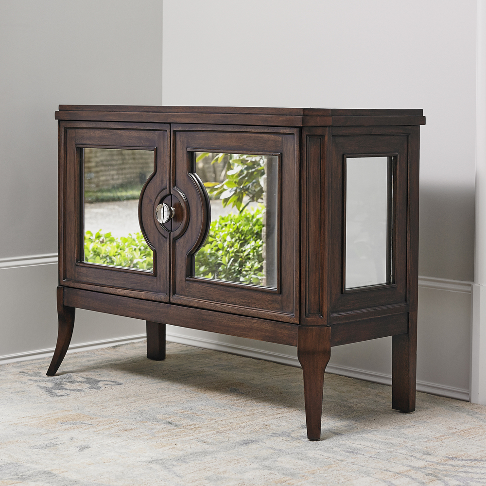 Ambella Home Collection - Regent Mirrored Side Cabinet